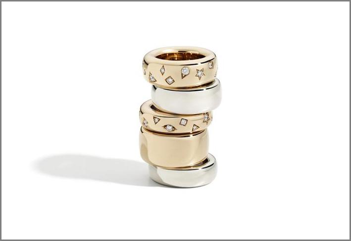 Pomellato, anelli della collezione Iconica