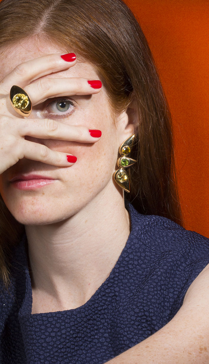 Cora Sheibani, collezione Eyes