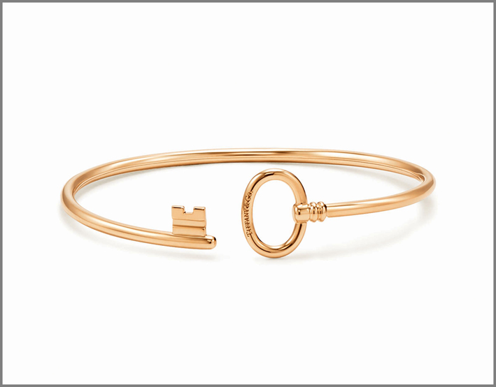 Bracciale Tiffany Keys in oro giallo. Tiffany & Co. Prezzo: 1.650 euro