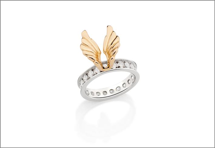 Collezione Arpia, anello per falange