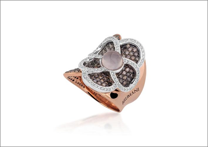 Brumani, anello della collezione Laces