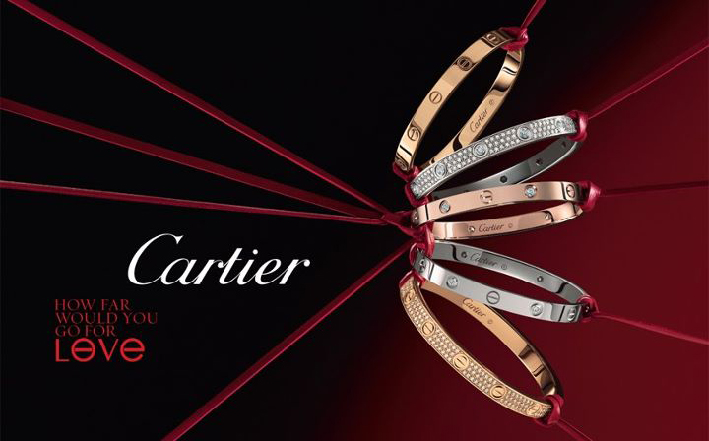 Cartier, campagna How far would you go for love?
