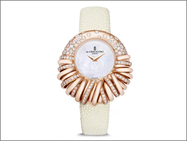 L'orologio-gioiello Allegra di de Grisogono
