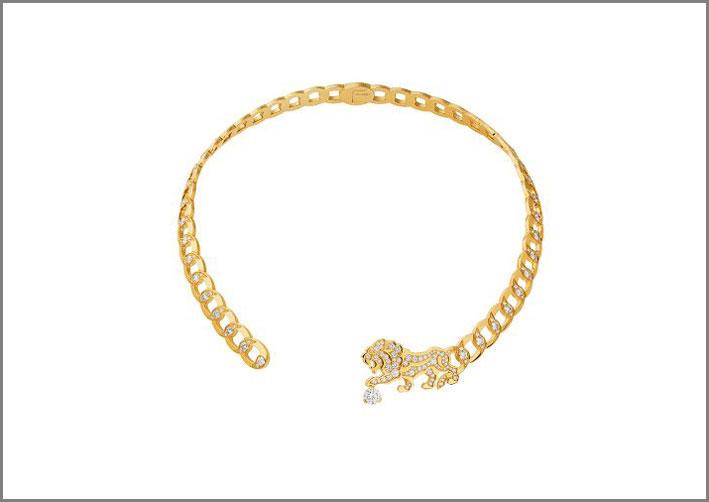 Chanel, choker della collezione L'Esprit du Leon