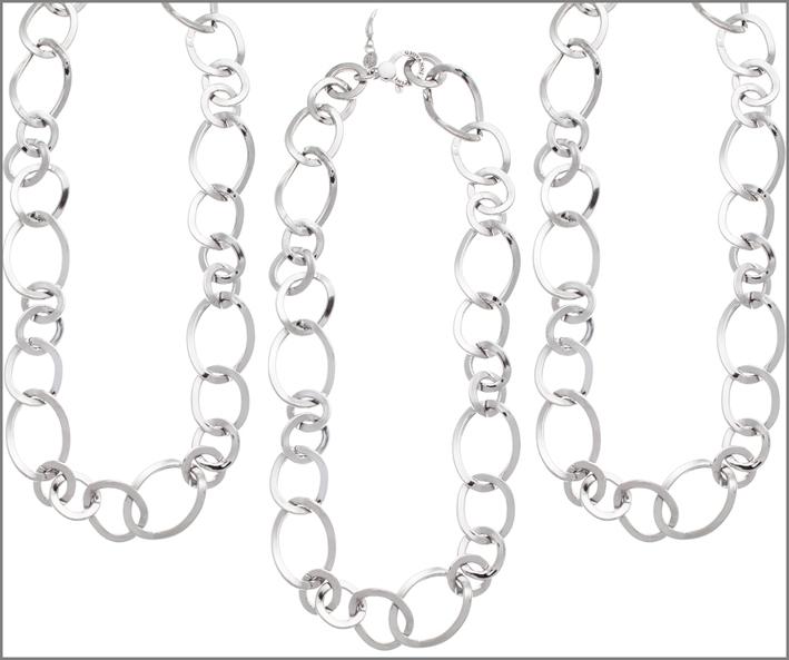 Raspini, collana in argento