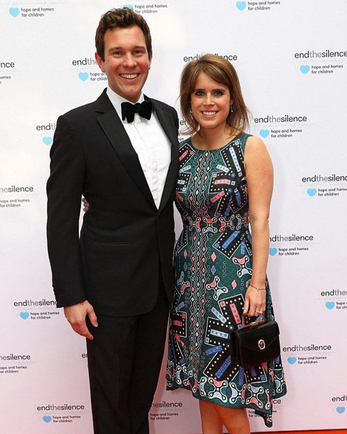 La principessa Eugenia e il fidanzato, Jack Brooksbank