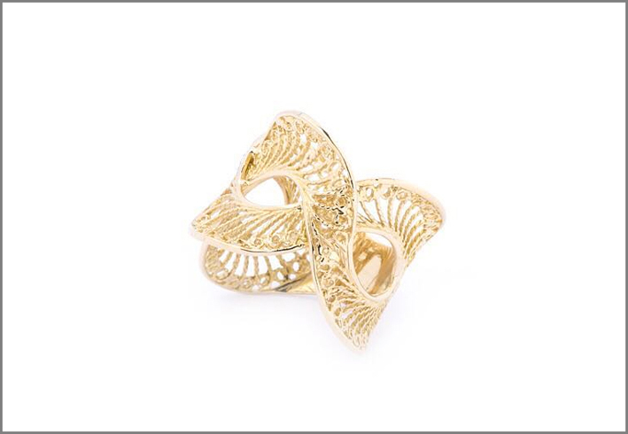 AllGold, Classic Collection, anello in filigrana d'oro