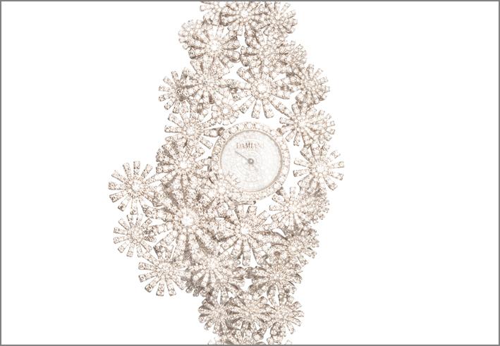 Damiani, particolare dell'orologio