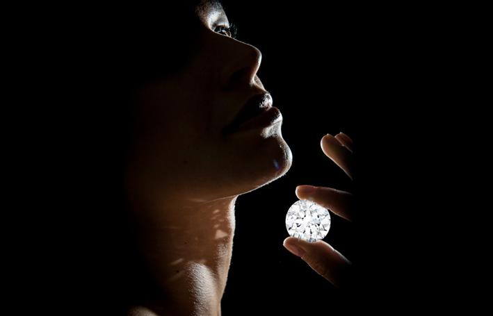 Il diamante flawless da 102 carati venduto da Sotheby's