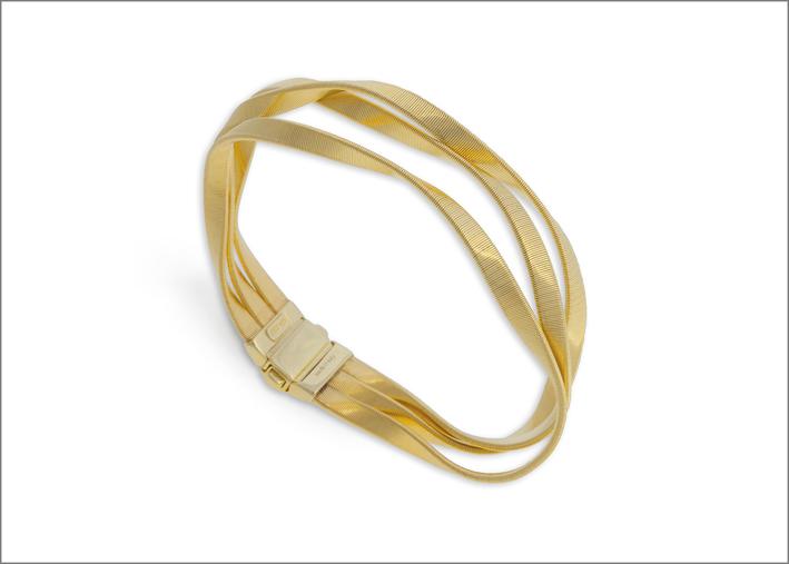 Bracciale in oro giallo della collezione Marrakech Supreme
