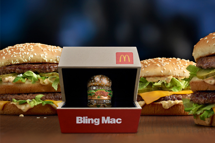 L'anello Bling Mac