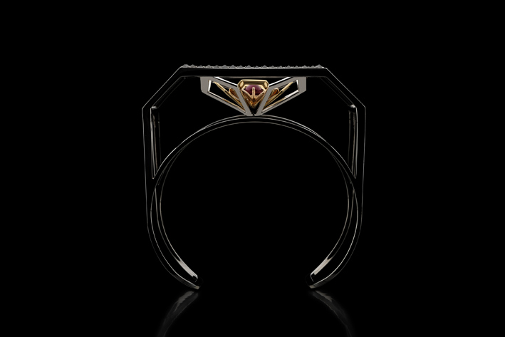 Bracciale Lotus, sezione