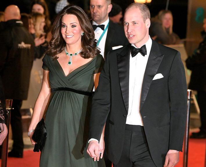 Kate Middleton assieme al principe William