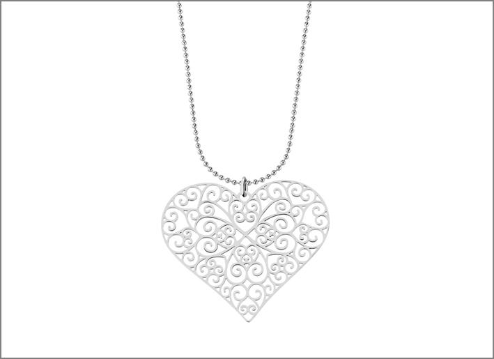Colelzione Arie, collana con pendente a cuore