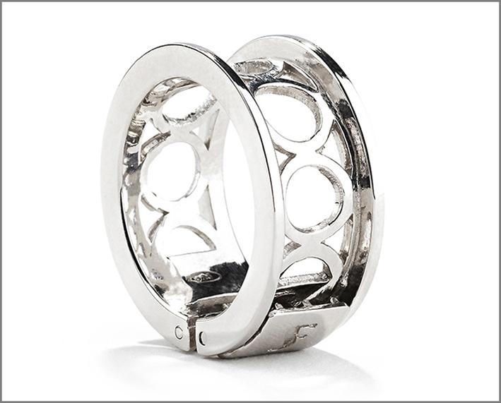 Anello nudo in argento