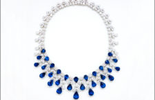 Collana di zaffiri e diamanti