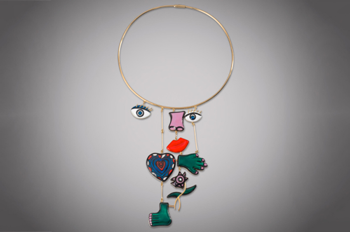 Niki de Saint Phalle, collana Assemblage, 1974- 2015. Foto Courtesy: Custot Gallery