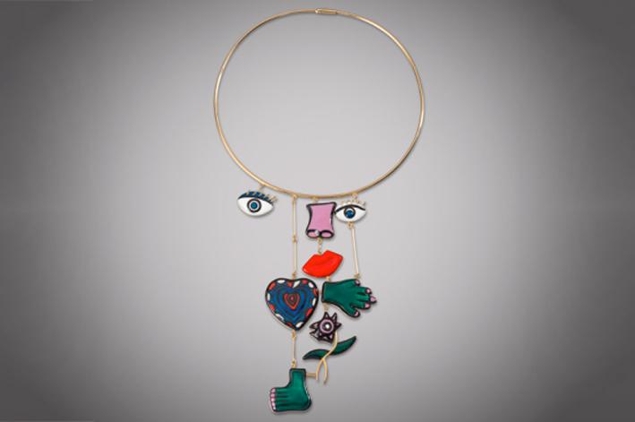Niki de Saint Phalle, collana Assemblage, 1974- 2015. Foto Courtesy: Custot Gallery