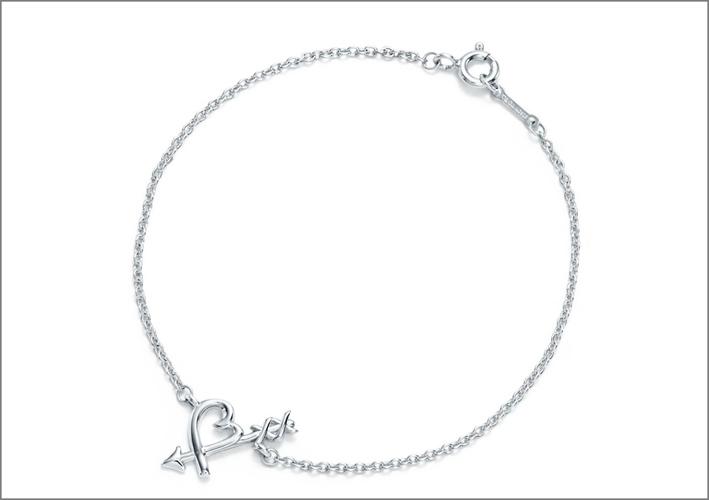 Bracciale Arrow, collezione Loving Heart di Paloma Picasso. Prezzo: 200 euro