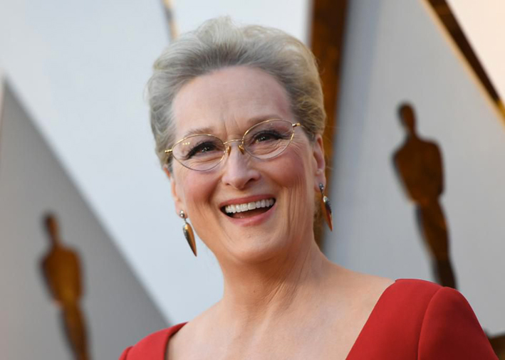 Meryl Streep con gioielli firmati Fred Leighton