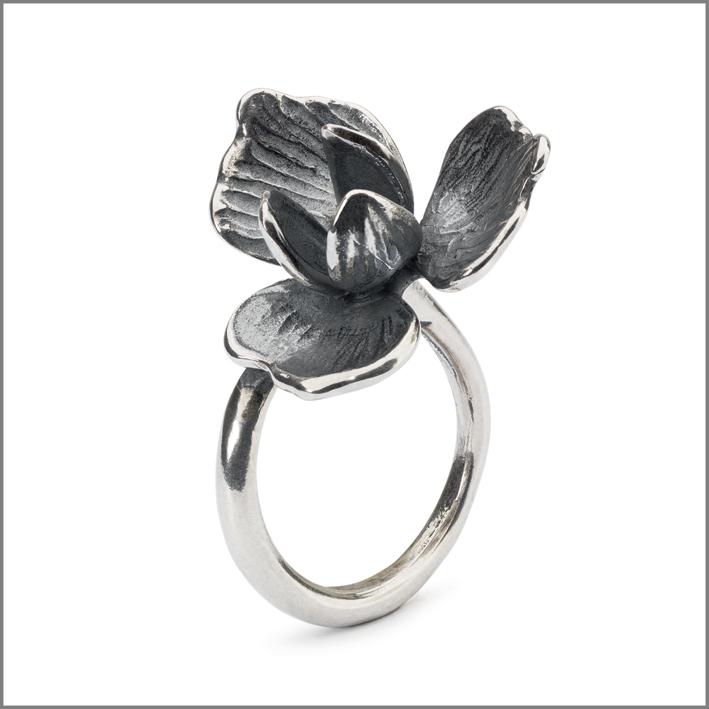 Anello in argento della collezione Foresta Incantata