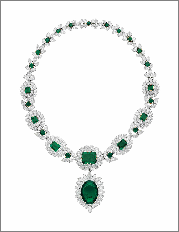 Collana di smeraldi e diamanti di Van Cleef & Arpels