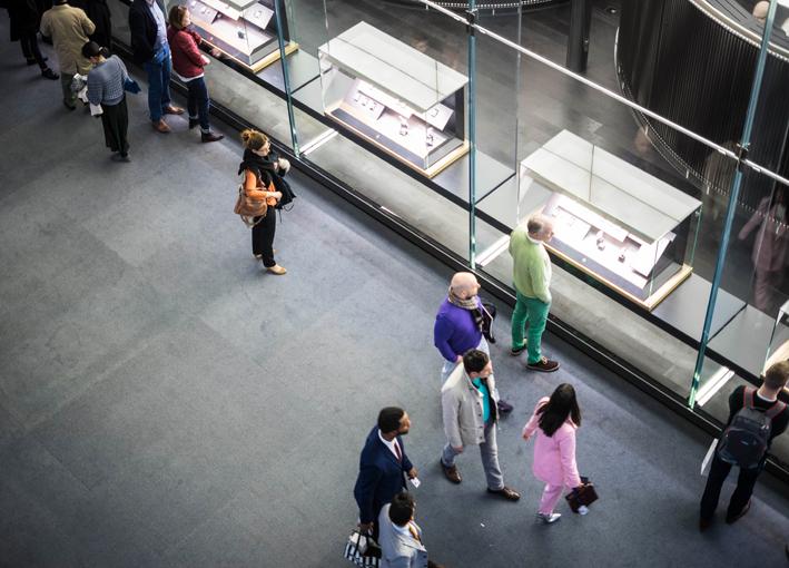 Visitatori a Baselworld
