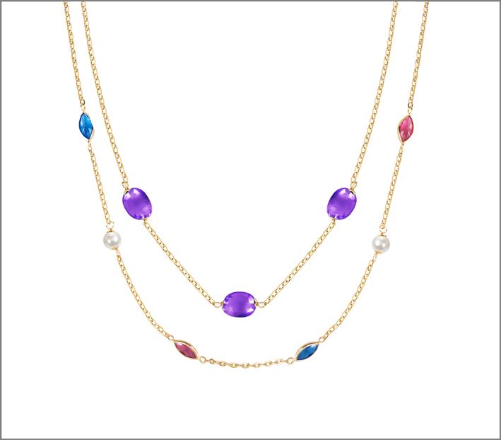 Due collane della collezione Multicolor
