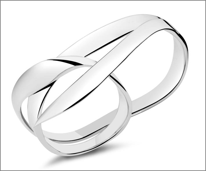 Pianegonda, anello in argento