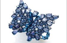 Anello farfalla della collezione Titanium