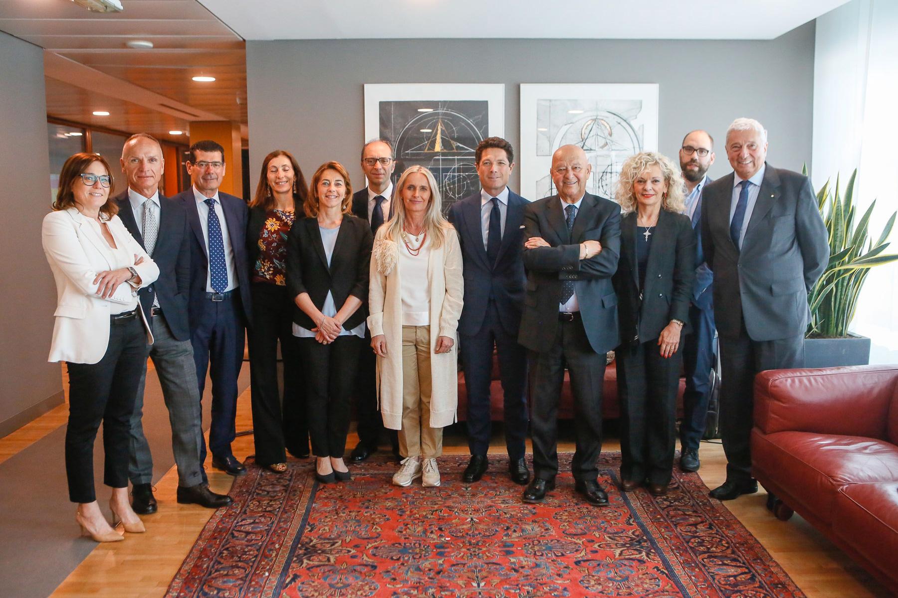 Il consiglio di amministrazione di Italian Exhibition Group al gran completo
