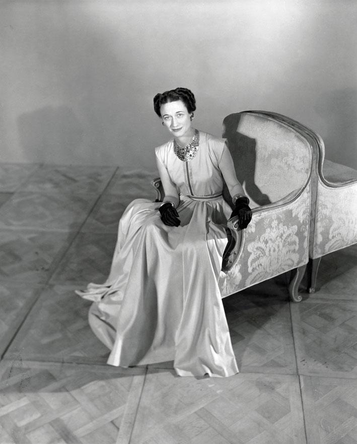 La Duchessa di Windsor nel 1947. Foto Condé Nast