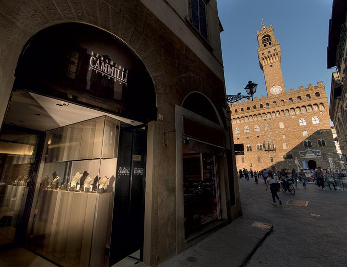 Il flagship store di Annamaria Cammilli a Firenze