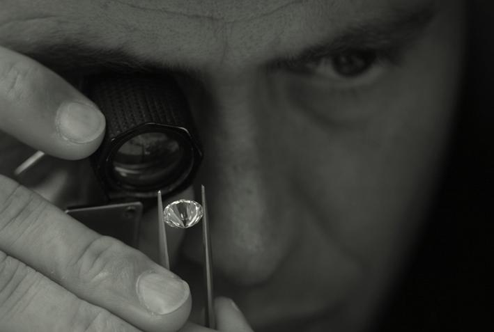 Valutazione di un diamante di Rubin & Zonen