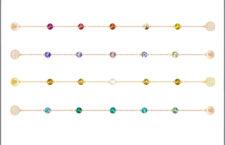 Swarovski, bracciali componibili della Remix Collection