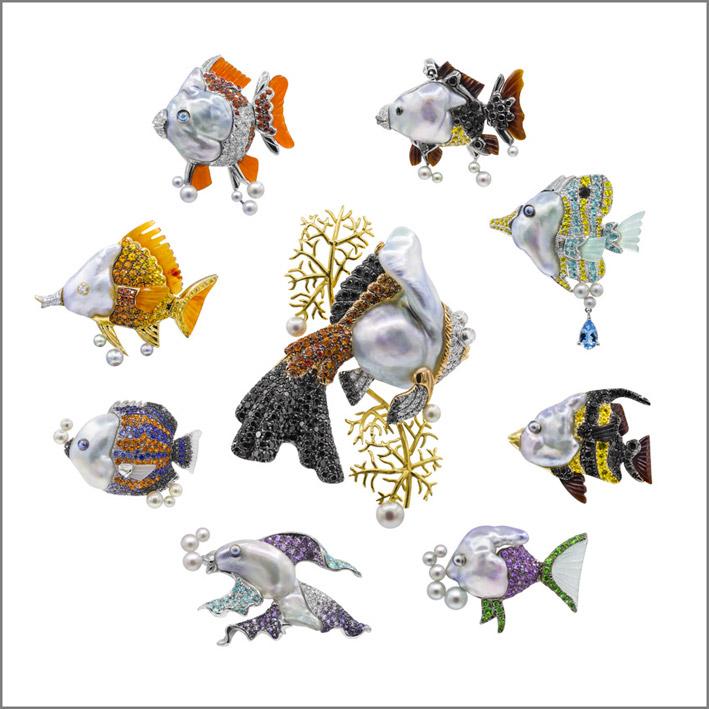 Spille della serie Fish