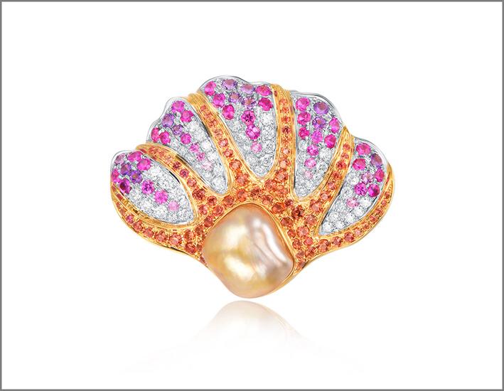 Kelly Xie, spilla anemone di mare
