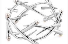 Bracciale in argento 925 con perle naturali. Prezzo: 850 euro