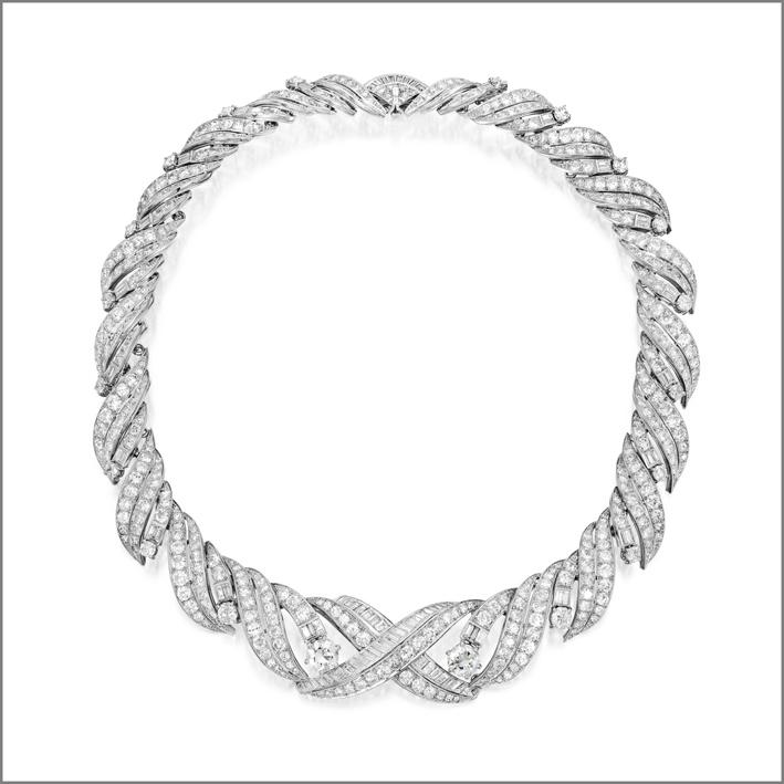 Collana di diamanti di Raymond Templier