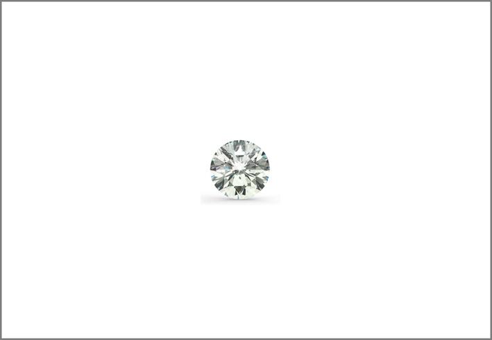 Diamante taglio brillante