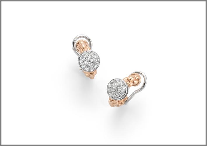 Fope, orecchini della collezione Eka Tiny