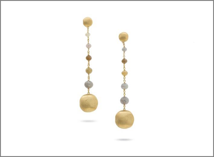 Marco Bicego, orecchini in oro e diamanti