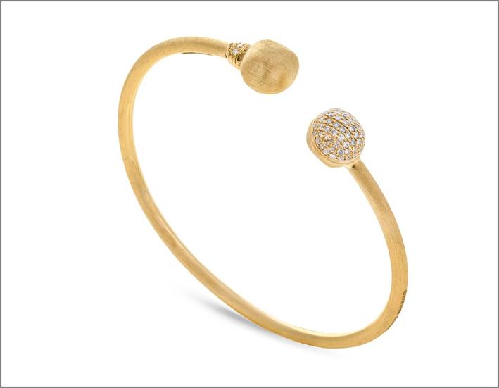 Marco Bicego, bracciale in oro e diamanti