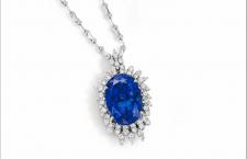 Alberto, pendente con tanzanite e diamanti