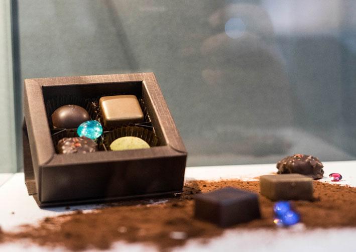 I cioccolatini abbinati alle gemme