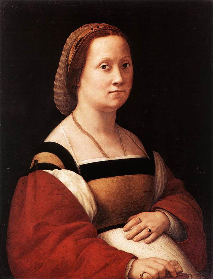 Raffaello Sanzio, La gravida, circa 1505