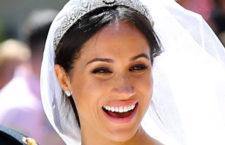 Meghan Markle con la tiara Diamond Bandeau