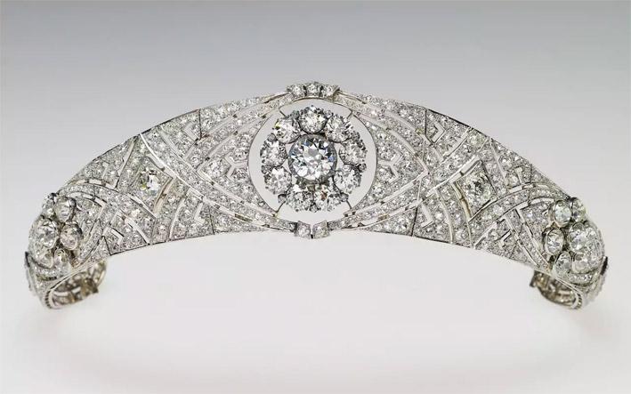 La tiara Diamond Bandeau