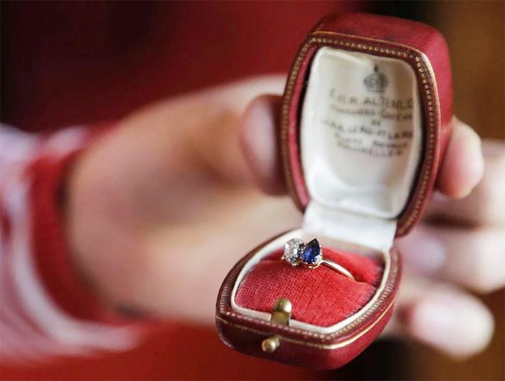 Anello donato da Napoleone a Josephine