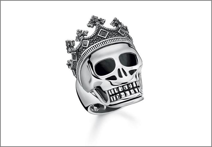 Anello in argento della collezione Rebel at heart